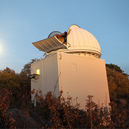 The Mount Laguna Observatory. (Photo: Jeneene Chatowsky)