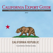 The 2017 edition of the California Export Guide.