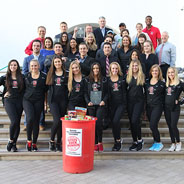 Aztecs Rock Hunger collected 448,240 pounds of food for the Jacobs & Cushman San Diego Food Bank.