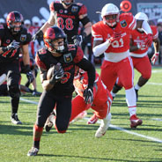 Aztec running back Donnel Pumphrey became college football