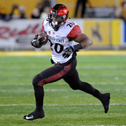 SDSU running back Rashaad Penny is the two-time defending MW Special Teams Player of the Year. (Credit: Ernie Anderson)