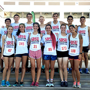 The SDSU Running Club meets for runs at 4 p.m. every weekday at the ENS 700 field. (Credit: SDSU Running Club)
