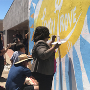 SDSU's Sage Project Lemon Grove mural