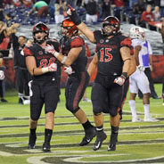 The Aztecs are ranked No. 22 in the AP poll. (Credit: GoAztecs)