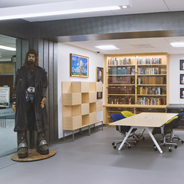 The Edward E. Marsh Golden Age of Science Fiction Room (Credit: SDSU Library)