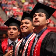 SDSU students at Commencement