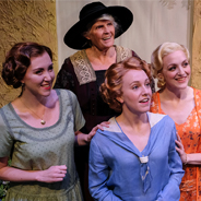 "The four female leads of ""Enchanted April"" (Photo: Ken Jacques)"