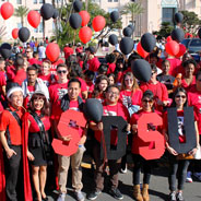 SDSU community at MLK Day Parade (Credit: SDSU Student Affairs)