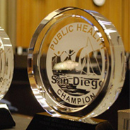 County of San Diego Health and Human Services Agency Public Health Champion Award