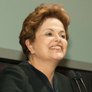 Former Brazilian President Dilma Rousseff spoke at SDSU as part of the Provost