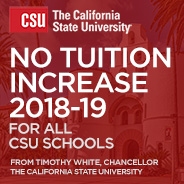 California State University Chancellor Timothy White has decided not to seek a tuition increase for 2018-19.