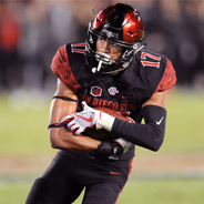 SDSU cornerback Ron Smith
