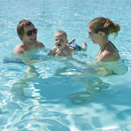Family swim hours are offered seven days per week at the Aztec Aquaplex during the summer months.