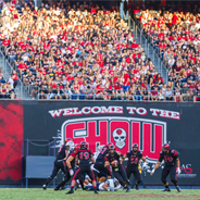 SDSU football game at SDCCU Stadium (Credit: Ernie Anderson/GoAztecs)