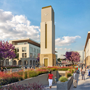 SDSU Mission Valley rendering
