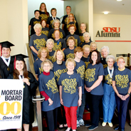 The SDSU chapter celebrates Mortar Board
