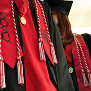 GradFest 2019 is a one-stop shop for caps and gowns and graduation memorabilia.