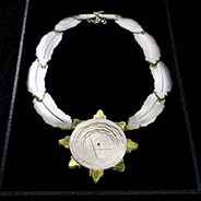 The sterling silver and gold leaf medallion is now part of SDSU Special Collections and University Archives.