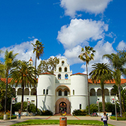 San Diego State University is partnering with Blackbaud, Inc., to adopt a state-of-the-art, one-stop scholarship matching system. Photo credit: Jeff Ernst.