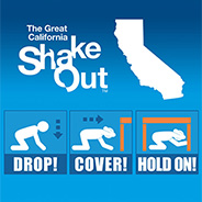 The Great Shakeout will take place on Thursday, Oct. 17.