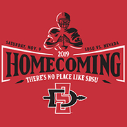 Homecoming 2019 is set for the week of Nov. 3-9.