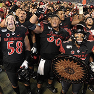 SDSU is playing in the New Mexico Bowl for the first time.