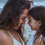 Allana Hill ('20) with her daughter