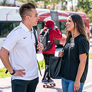 The SDSU Transit Center offers extensive access to public transportation, allowing students to travel to campus without a vehicle.