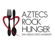 Twenty percent of the monetary donations to Aztecs Rock Hunger go directly to SDSU