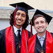 The schedule of ceremonies by college can be found on the SDSU Commencement site.