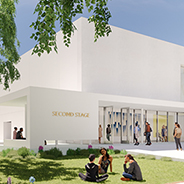 Rendering of Second Stage Theatre