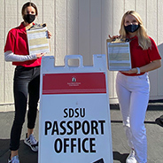 SDSU Passport Office at the International Affairs Complex