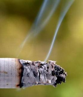 "Cigarette smoke leaves behind ""thirdhand smoke,"" a harmful, lingering residue."