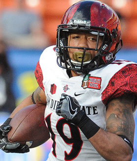 Damontae Kazee had eight interceptions in 2015, which tied for the second most in the nation, the most in Aztecs' Division I era (since 1969) and in Mountain West history.