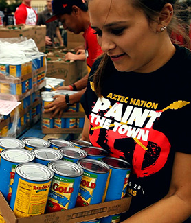 The campaign hopes to raise 400,000 pounds of food this year for San Diego families in need.