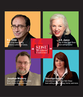 The SDSU Writers' Conference gives writers unprecedented access to top-tier publishing professionals.