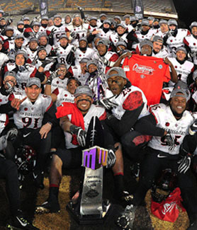 It will be the seventh consecutive bowl game appearance for the Aztecs, (Credit: GoAztecs)