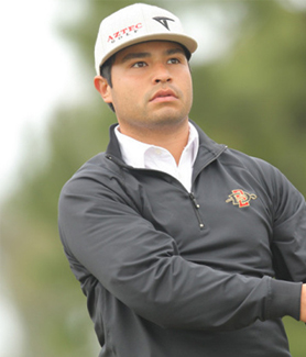 J.J. Spaun is one of three former Aztecs who competed at the Farmers Insurance Open. (Credit: GoAztecs)