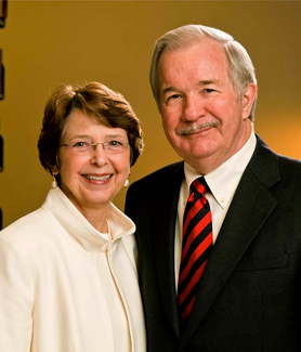 Betty and Glen Broom enjoyed long and distinguished careers at SDSU before retiring more than a decade ago. (Photo: David Friend)