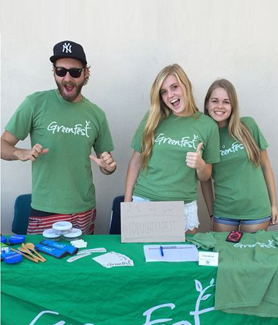 GreenFest encourages the SDSU community to engage in a sustainable lifestyle. (Credit: GreenFest)