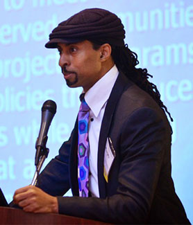 Mustafa Santiago Ali is the senior vice president of climate, environmental justice and community revitalization for the Hip Hop Caucus. (Credit: Mustafa Santiago Ali)