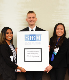 The SDSU Society for Human Resource Management meets from 4-6 p.m. every Tuesday in the Metzli Room in the student union. (Credit: SHRM)