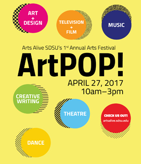 The festival will include multiple live arts performances and booths with displayed works from student clubs, groups and artists.
