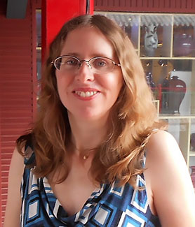 SDSU history professor Kathryn Edgerton-Tarpley in Zhengzhou, the capital of China