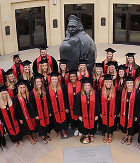 SDSU set a program record for Academic Progress Rate for its five-point improvement over last year's multi-year rate.