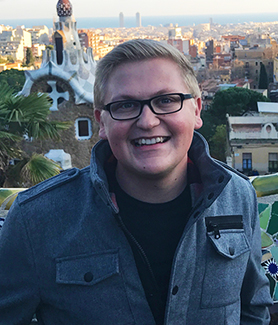 SDSU student Zackary Albrecht studied abroad in Barcelona, Spain, thanks in large part to the SDSU Associated Students Study Abroad Scholarship.