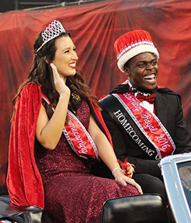 2016 SDSU Homecoming Royals (Photo: Kelly Smiley/The Daily Aztec)