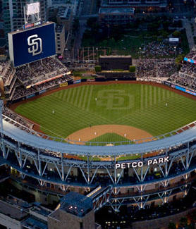 Petco Park (Credit: Delaware North)