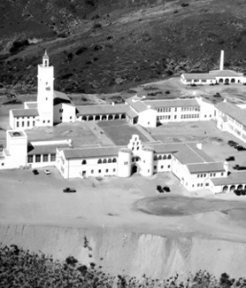 SDSU atop Montezuma Mesa in 1931 (Credit: SDSU Special Collections)