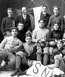 1901 San Diego Normal School football team (Credit: SDSU Special Collections and University Archives)